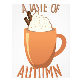 Taste Of Autumn Letterhead