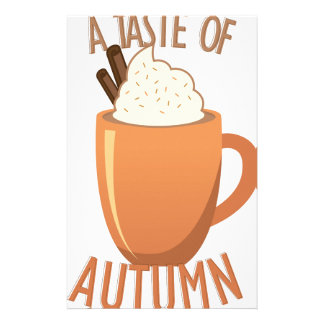 Taste Of Autumn Stationery