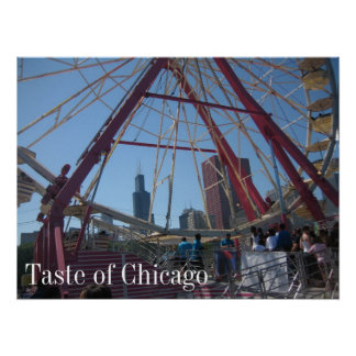 Taste of Chicago Poster