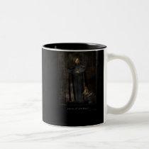 fun, girl, gothic, creature, dark, houk, art, artwork, mask, mood, eerie, cool, fantasy, surreal, surreal art, chick, cool mugs, cute mugs, mug, mugs, bestseller, best selling, creatures, races, Mug with custom graphic design
