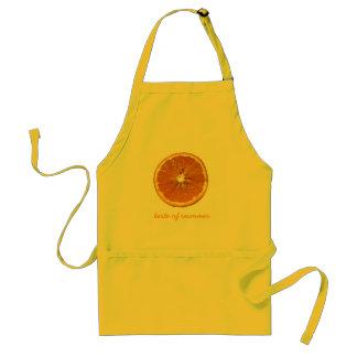Taste of Summer, Orange Adult Apron