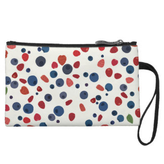 Taste of summer wristlet wallet
