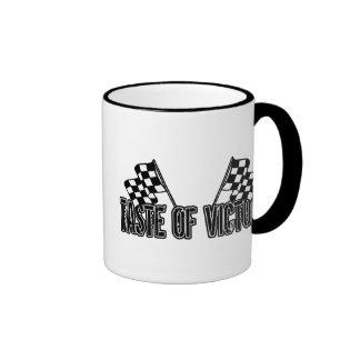 Taste of Victory Ringer Coffee Mug