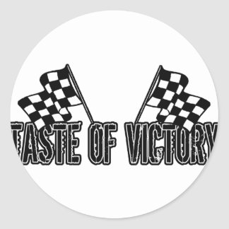 Taste of Victory Stickers