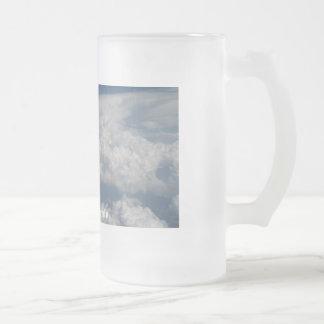 Taste so Heavenly Frosted Glass Beer Mug