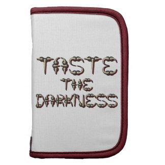 Taste The Darkness Planner