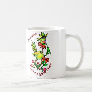 Taste The Flowers Coffee Mug
