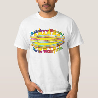 Taste the RAINBOW! (bacon) T-shirt