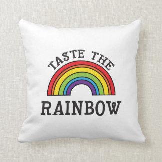 Taste The Rainbow LGBT Pride Pillow