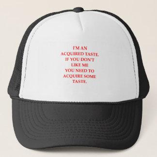 TASTE TRUCKER HAT