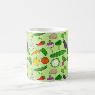 Taste Vegan colorful with green backround Coffee Mug