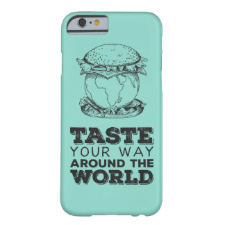 Taste your way around the world barely there iPhone 6 case