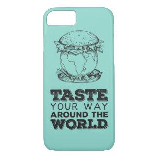 Taste your way around the world iPhone 8/7 case