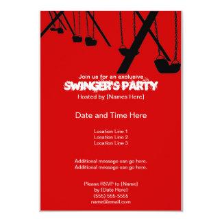 Tasteful Swingers' Party Invitations