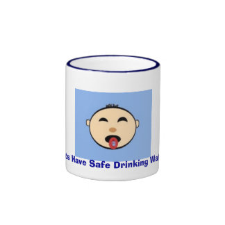 tasterain, Lets Have Safe Drinking Water Coffee Mugs