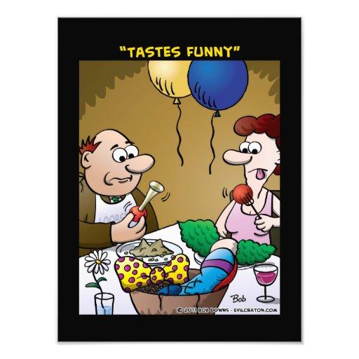 """Tastes Funny"" Photographic Print"