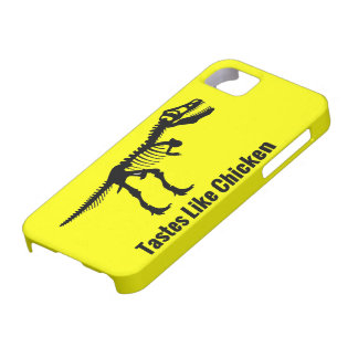 Tastes Like Chicken - Dinosaur iPhone Case iPhone 5 Cover
