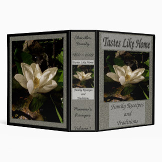 Tastes Like Home/Southern Magnolia 3 Ring Binder