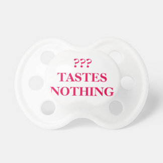 ??? Tastes Nothing 0-6months BooginHead® Pacifier