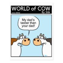Tastier Dad Postcard