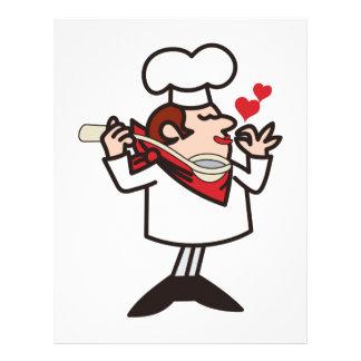 Tasting Chef Letterhead