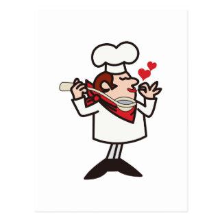 Tasting Chef Postcard