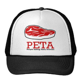 Tasty Animals Trucker Hats