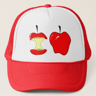 tasty apples trucker hat