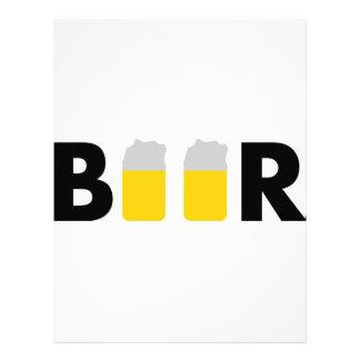 tasty beer custom letterhead