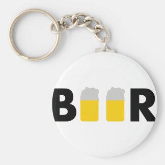 tasty beer keychain