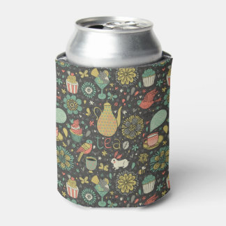 Tasty bright Tea Card Can Cooler