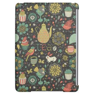 Tasty bright Tea Card iPad Air Cover