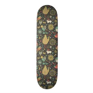 Tasty bright Tea Card Skateboard