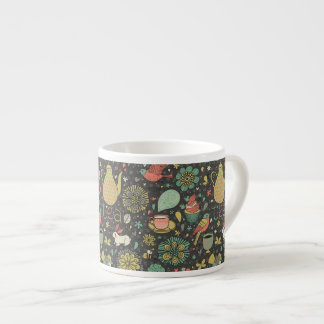 Tasty bright Tea Card Espresso Mugs