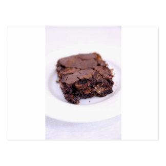 Tasty Brownie Postcard