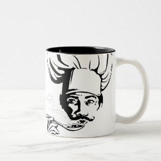 Tasty Chef Two-Tone Coffee Mug