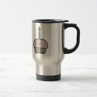 Tasty Cupcake 15 Oz Stainless Steel Travel Mug