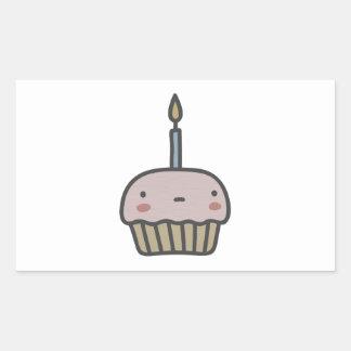 Tasty Cupcake Rectangular Sticker