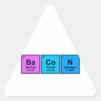 Tasty Elements Triangle Sticker