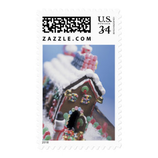 Tasty Gingerbread House Postage
