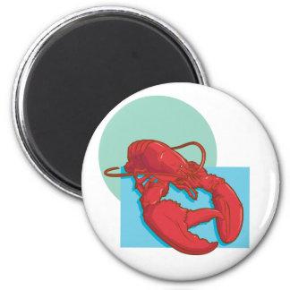 Tasty Lobster 2 Inch Round Magnet