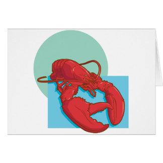 Tasty Lobster Card