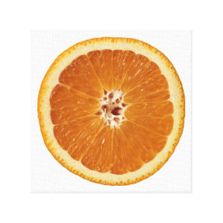 Tasty Orange Canvas Print