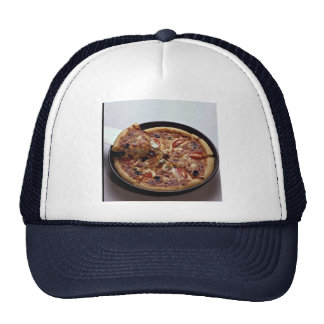tasty pizza for food lovers trucker hat