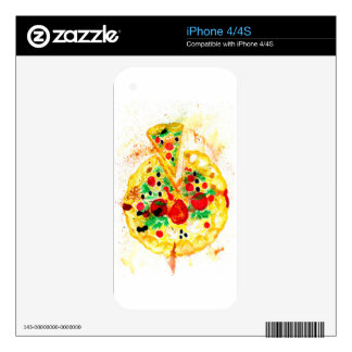 Tasty Pizza iPhone 4S Skins