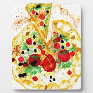 Tasty Pizza Plaque