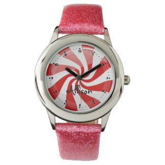 Tasty Round Peppermint Watches