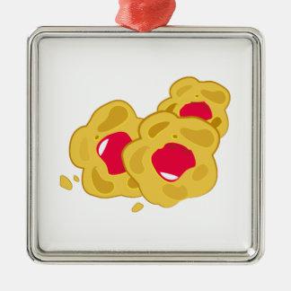 Tasty Snack Metal Ornament