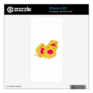 Tasty Snack Skins For iPhone 4