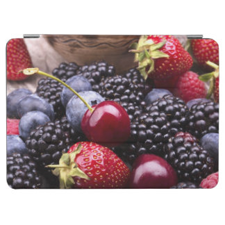 Tasty Summer Fruits On A Wooden Table iPad Air Cover